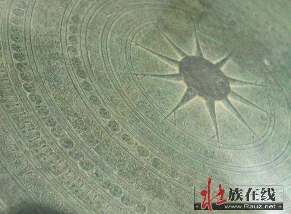 [贴图]壮族铜鼓纹样考察续——广西民族博物馆